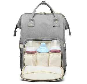 Waterproof USB Diaper Bag Baby Care Large Capacity Mom Backpack