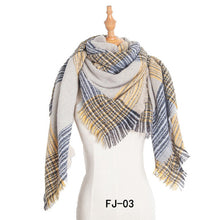 Load image into Gallery viewer, Women Soft Thick Large Oversized Scarf Pashmina Scarf Cape Shawl