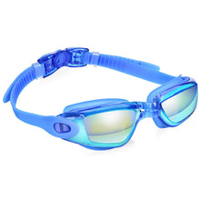 Load image into Gallery viewer, Anti Fog UV Protection Triathlon Swim Goggles with Free Protection Case