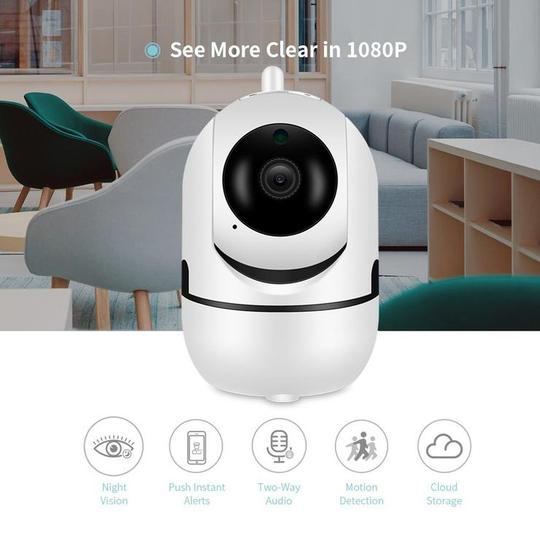 720P/1080P WiFi Wireless IP Camera Security Camera with Night Vision