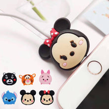 Load image into Gallery viewer, Cartoon Cable Bite for iPhone Cable Cord Animal Phone Accessories Protector