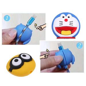 Cartoon Cable Bite for iPhone Cable Cord Animal Phone Accessories Protector