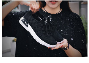 Woman Sport Shoes Mesh Breathable Trainers