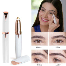 Load image into Gallery viewer, Electric Finishing Touch Painless Brows Hair Remover Face Eyebrow LED Light