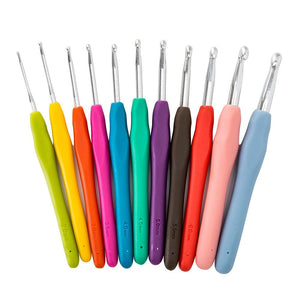 30Pcs Crochet Hooks Set Knitting Needles Sets Sewing Tools Grip With Bag
