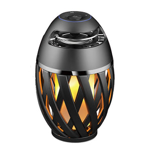 Flame Table Lamp Bluetooth Speaker
