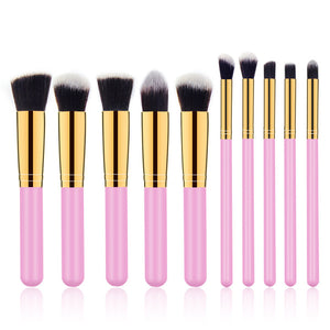 10 Seconds Convenient Electric Wash Makeup Brush Dryer Cleaner Device with 10pcs Brush