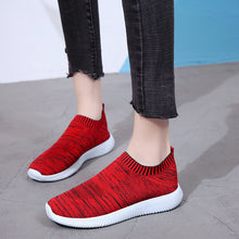 Load image into Gallery viewer, Unisex Mesh Breathable Sneakers Slip On Flats Shoes