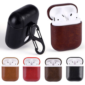 Protective Case Cover Key Pouch Skin for Apple Airpods Earphone