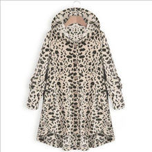 Load image into Gallery viewer, Oversize Hooded Button-Up Fleece