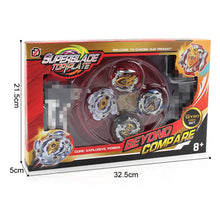 Load image into Gallery viewer, 4PCS Beyblade Burst Starter XD168-9 Beyblade Metal Fusion Toy W/ Launcher