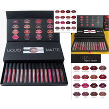 Load image into Gallery viewer, 16Pcs/Box Beauty Makeup Liquid Matte Full Colletion Sets Shades Kit Lipstick