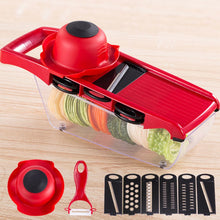 Load image into Gallery viewer, Potato Slicer Vegetable Fruit Cutter Stainless Steel Mandoline Kitchen