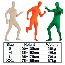 Load image into Gallery viewer, Party Costume Dress Invisible Morph Suit Full Body Men Women Spandex New