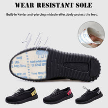Load image into Gallery viewer, Man Safety Work Shoes Steel Toe Cap Hiking Boots Sport Breathable
