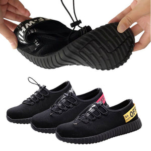 Man Safety Work Shoes Steel Toe Cap Hiking Boots Sport Breathable