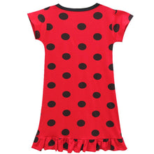 Load image into Gallery viewer, Kid Girls Miraculous Ladybug Fancy Dress Cosplay Costume Mini Dress