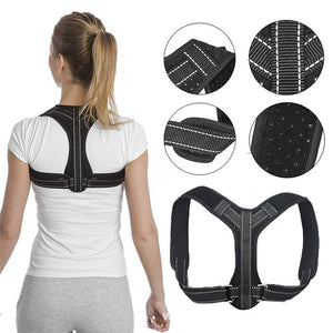 Adjustable Back Straightener Posture Corrector for Men and Women