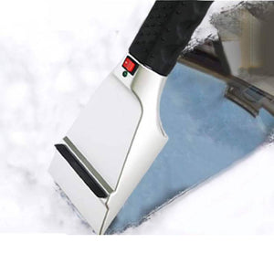 12V Electric Heated Car Ice Scraper Automobiles Cigarette Lighter Snow Removal Shovel