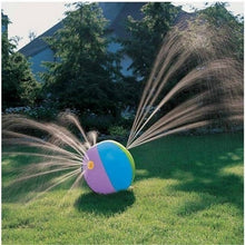 Load image into Gallery viewer, Outdoor Summer Pool Beach Ball Inflatable Splash Play Party Water Game Children Kids Sprinkler Toy