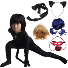 Load image into Gallery viewer, Cosplay Miraculous Ladybug Black Cat Noir Adrien Agreste Suit Costume