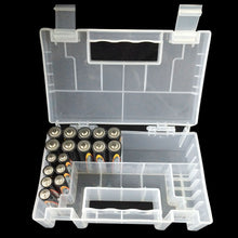 Load image into Gallery viewer, Portable Hard Plastic Case Storage Box Holder Organiser for AA AAA C Battery