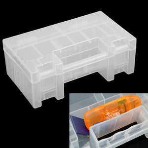 Portable Hard Plastic Case Storage Box Holder Organiser for AA AAA C Battery