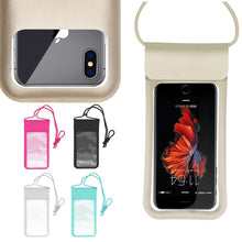 Load image into Gallery viewer, Waterproof Bag Underwater Pouch Dry Phone Case Cover Universal