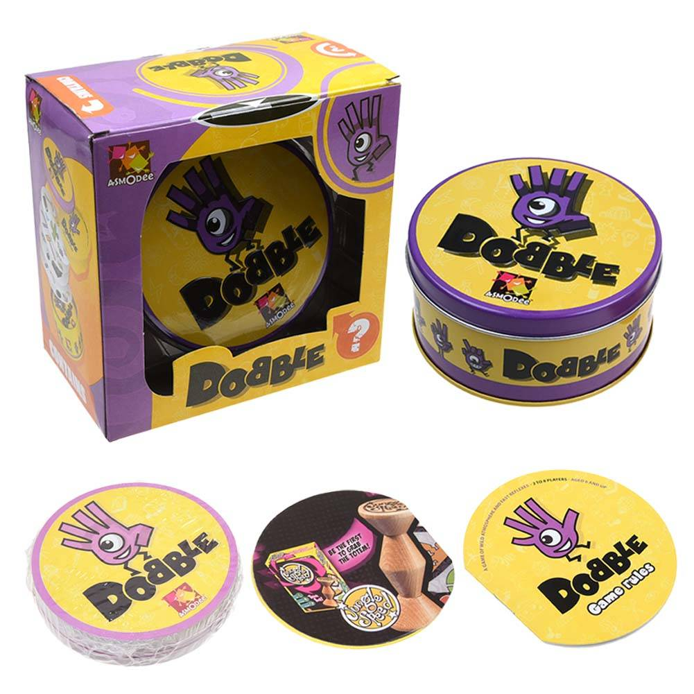 Dobble Award-Winning Visual Perception Card Game