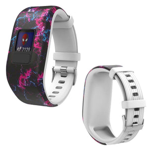 Silicone Replacement Band Bracelet Wristband for Garmin Vivofit JR2