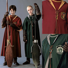 Load image into Gallery viewer, Harry Potter Slytherin Gryffindor Cloak Robe Cosplay Costume