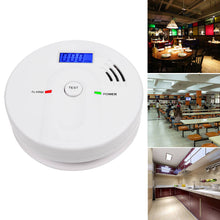 Load image into Gallery viewer, LCD CO Carbon Monoxide Poisoning Sensor Alarm Warning Detector Tester Home