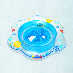 Baby Kids Inflatable Float Swimming Ring Trainer Safety Aid Pool Water Toy