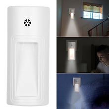 Load image into Gallery viewer, Auto LED Light Induction Sensor Control Bedroom Night Lights Bed Lamp