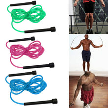 Load image into Gallery viewer, Skipping Rope Nylon Jump Speed Exercise Handle Boxing Fitness Adjustable