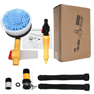 Car Pressure Washer Rotating Wash Brush Vehicle Care Washing Sponge Cleaner