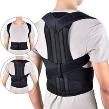 Load image into Gallery viewer, Back Posture Magnetic Shoulder Corrector Brace Belt Therapy Men Women
