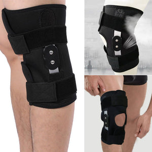Knee Support Open-Patella Brace for Arthritis with Adjustable Strapping