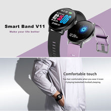 Load image into Gallery viewer, V11 Smart Watch Blood Pressure Heart Rate Monitor Sport Bracelet Fitness