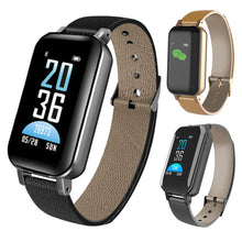 Load image into Gallery viewer, T89 TWS Smart Watch Bracelet headphone Heart Rate For Android iOS