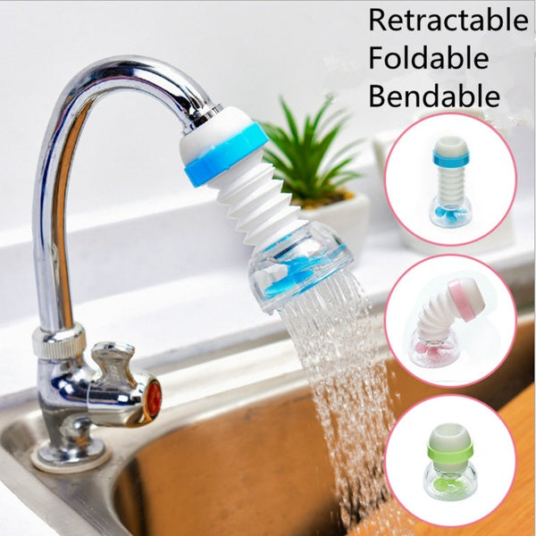 Collapsible Tap Water Home Medical Faucet Water Purifier