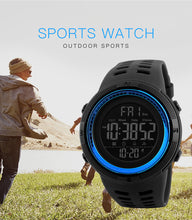 Load image into Gallery viewer, Outdoor Sport Watch Men Clock Multifunction Watches Alarm Chrono 5Bar Waterproof Digital Watch