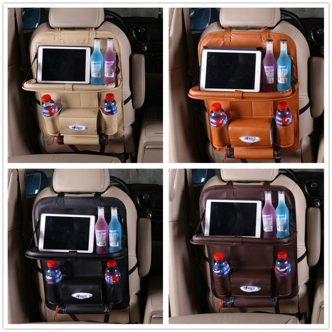 Car Seat Back Organizer Storage Bag