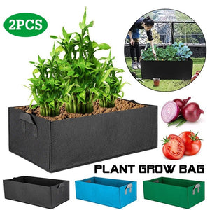 Vegetables Flowers Plant Growing Bags with Handles Eco-friendly Plants Pot for Indoor Outdoor Planter