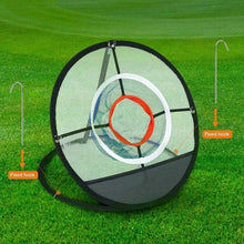 Load image into Gallery viewer, Golf Chipping Pitching Hitting Cage Practice Net Outdoor Training Aid Tools