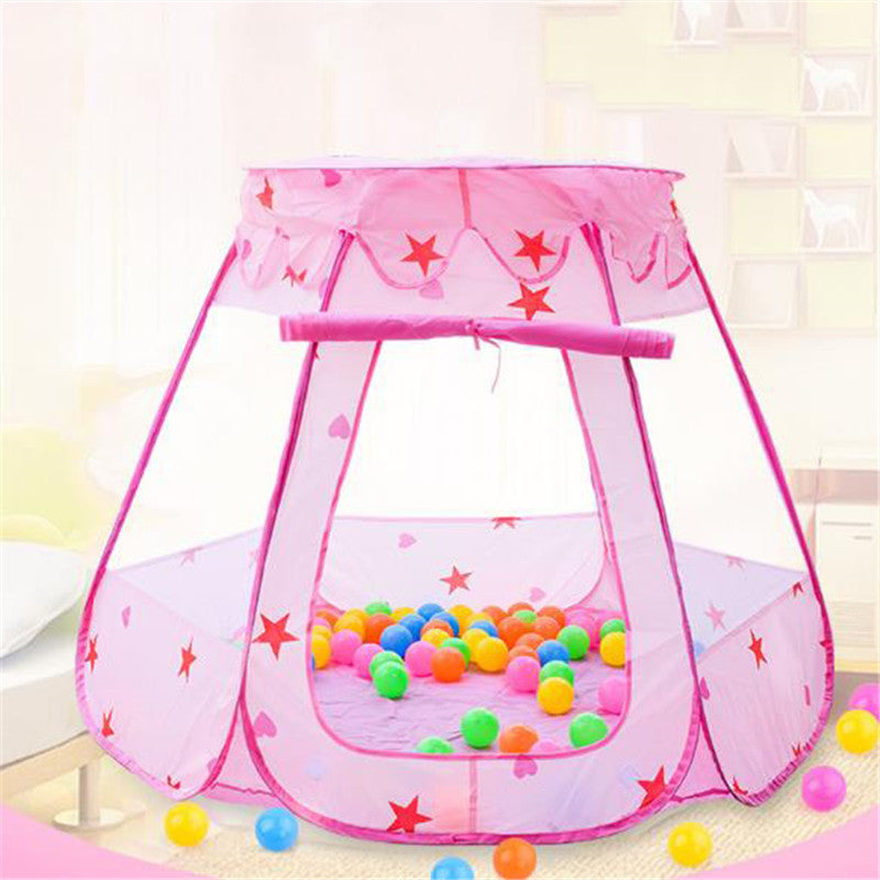 Kids Ocean Ball Pit Pool Toys Outdoor and Indoor Baby Toy Tents Fairy House Tent