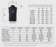 Load image into Gallery viewer, Electric Heated Vest Men Women Heating Waistcoat Thermal Warm Clothing Usb Heated Outdoor Vest Winter Heated Jacket