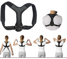 Load image into Gallery viewer, Adjustable Back Straightener Posture Corrector for Men and Women