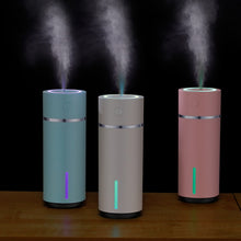 Load image into Gallery viewer, 240ML Air Humidifier Mini Aromatherapy Essential Oil Ultrasonic Diffuser With 7 Colors