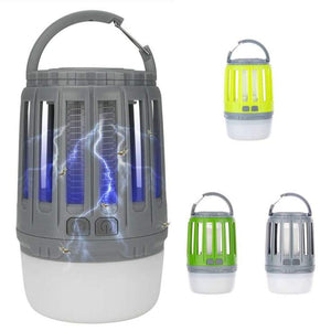 USB Charging Mosquito Killer Trap LED Night Light Lamp Bug Insect Lights Killing Pest Repeller Camping Light